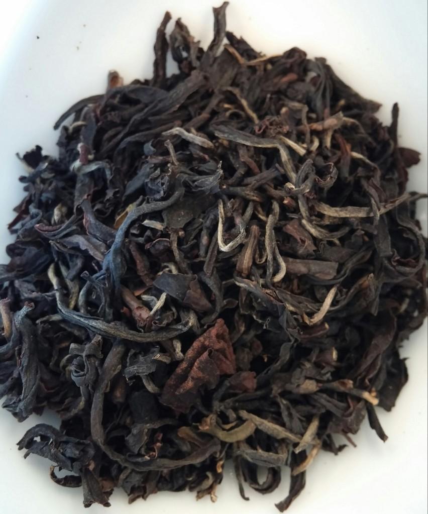Doke Black Fusion Tea 2014 First Flush Dry Leaves