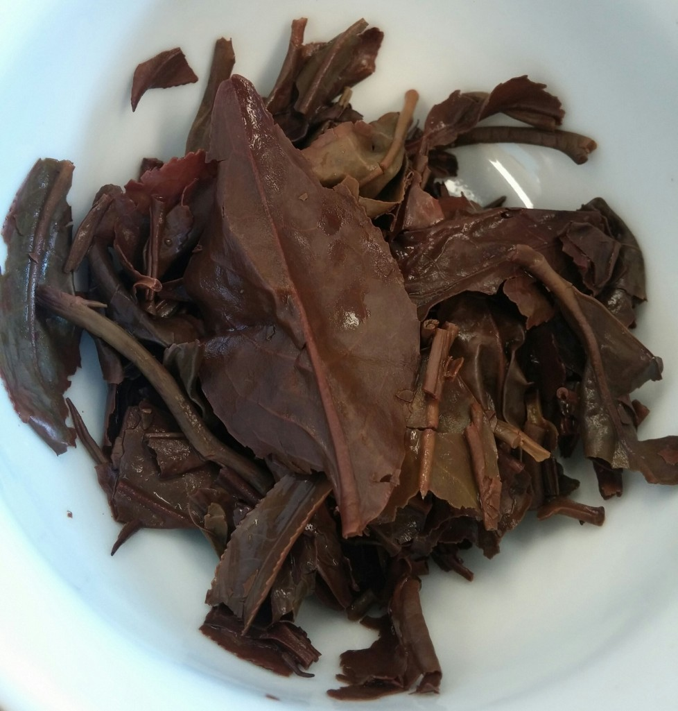 Doke Black Fusion Tea 2014 First Flush Infused Leaves