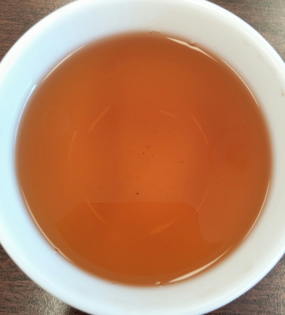 Hwang Cha Amber Wulong Tea 1st Infusion