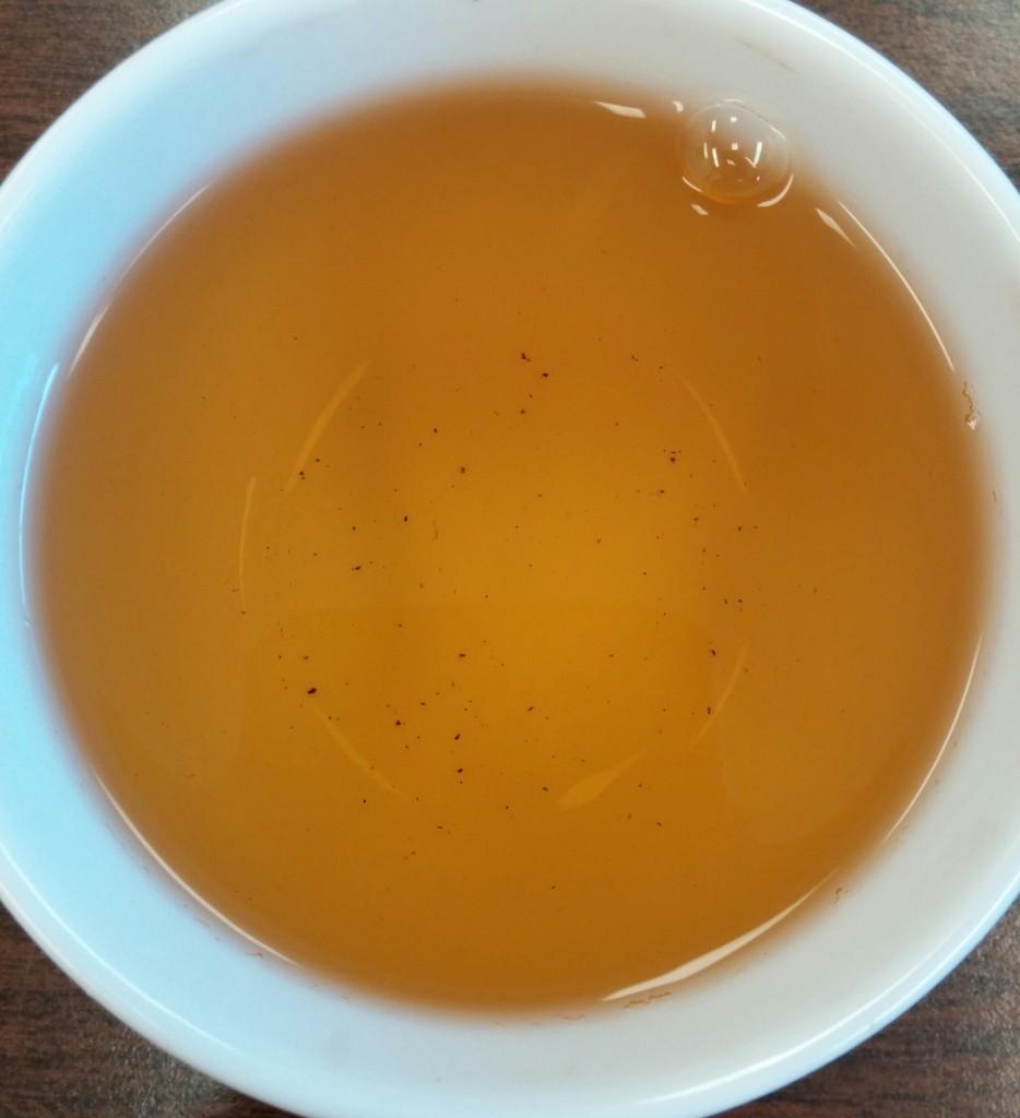Hwang Cha Amber Wulong Tea 3rd Infusion
