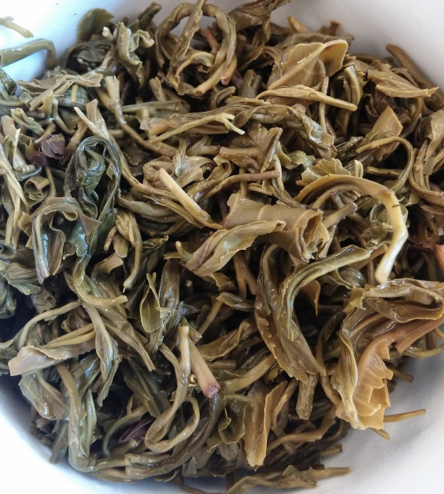 Tan Cuong Green Tea Infused Leaves