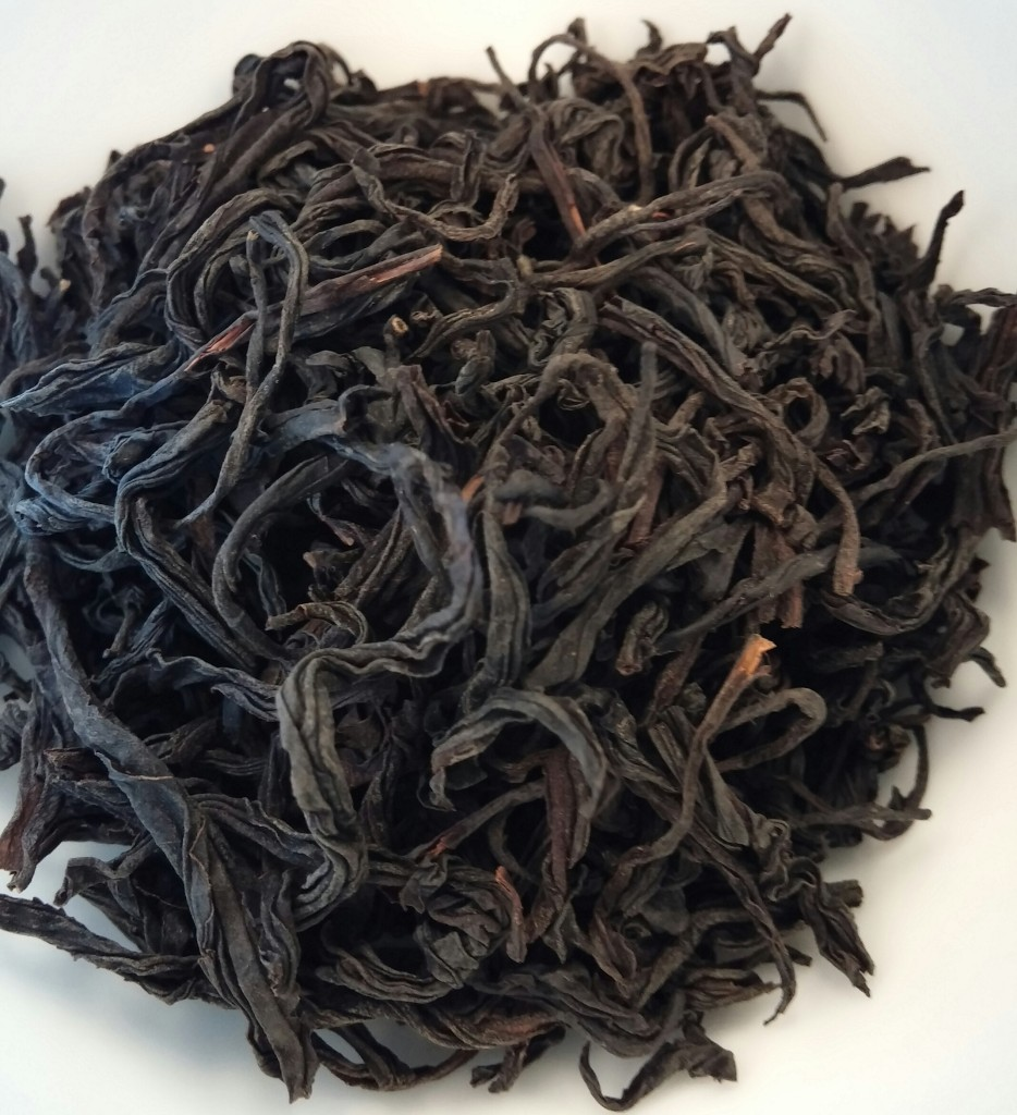 Special OP Black Tea Dry Leaves