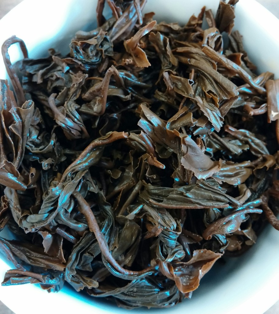 Special OP Black Tea Infused Leaves