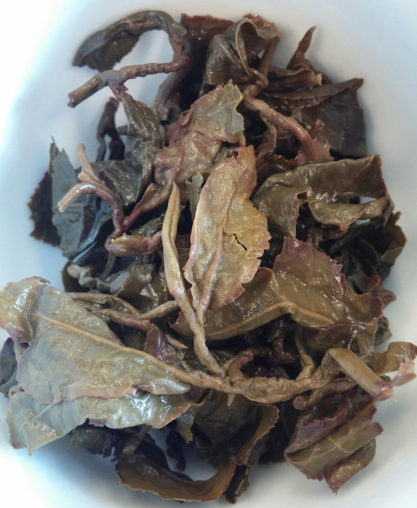 Thea Kuan Imm Oolong Tea Infused Leaves