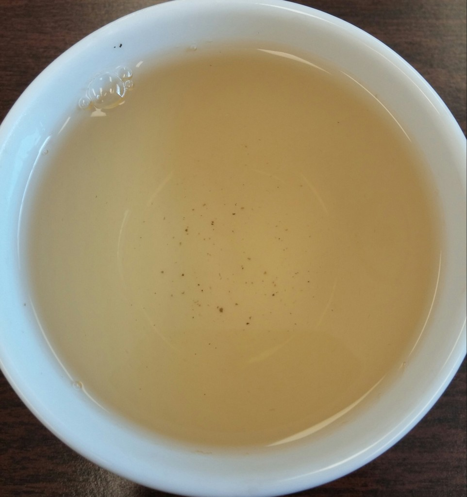 Jungpana First Flush 2014 Darjeeling Tea 2nd Infusion
