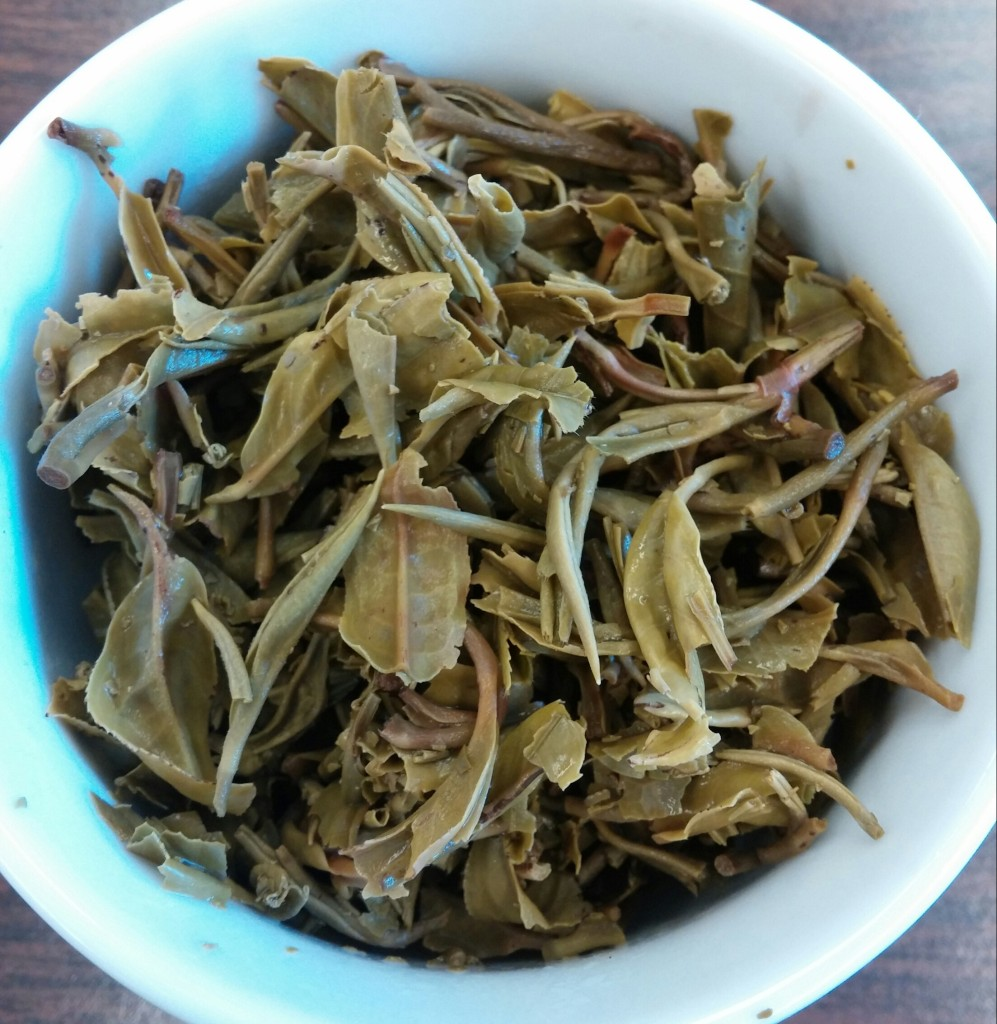 Jungpana First Flush 2014 Darjeeling Tea Infused Leaves