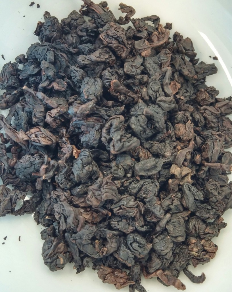 13 Year Aged Ti Kuan Yin Oolong Tea Dry Leaves