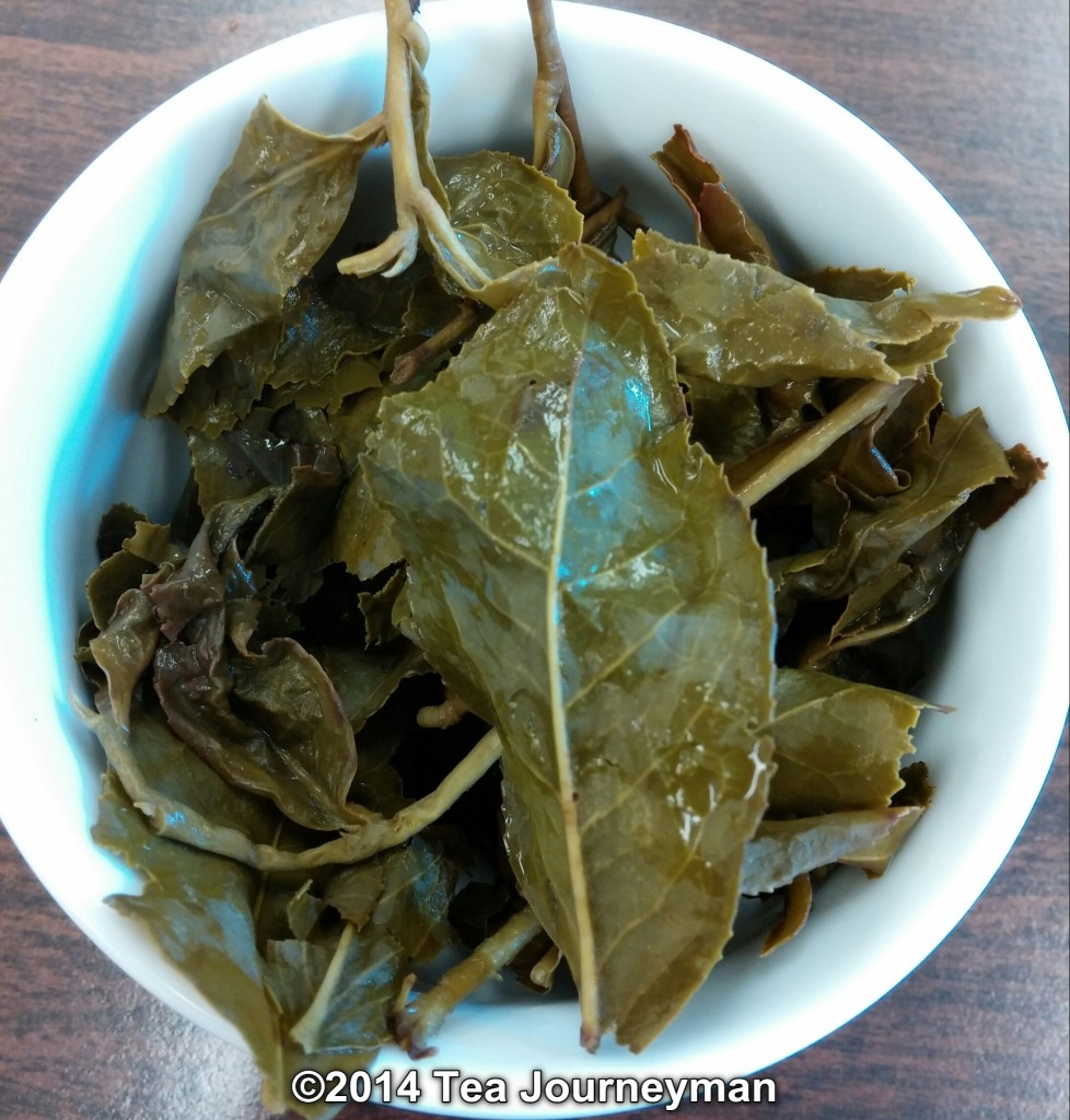 Tu Quy Oolong Tea Infused Leaves