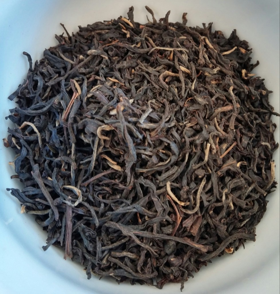 Orthodox Assam Tips Black Tea Dry Leaves