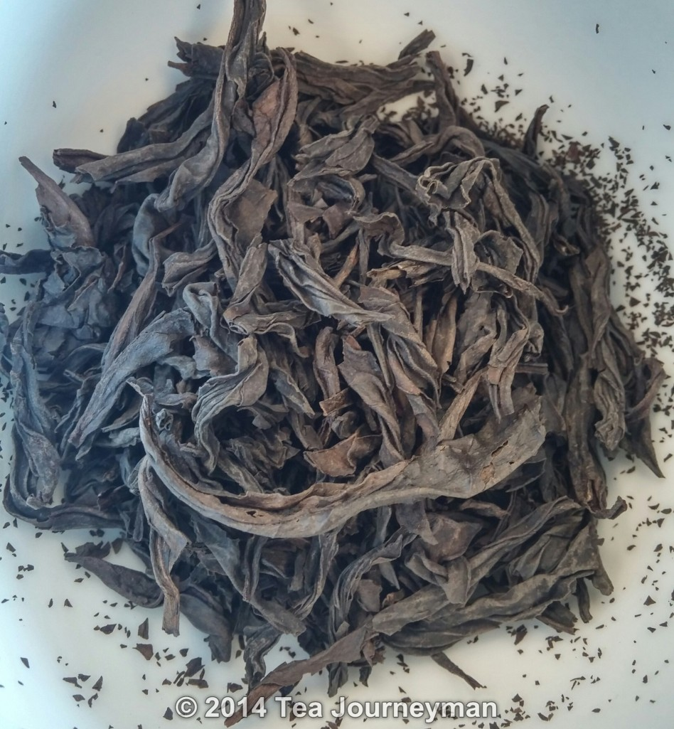 Rou Gui Wulong Tea Dry Leaves
