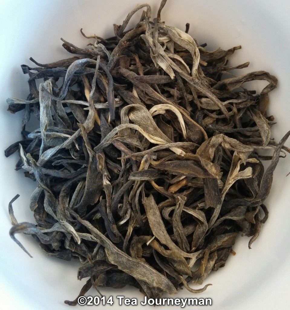 Long Leaf Green Tea Dry Leaves
