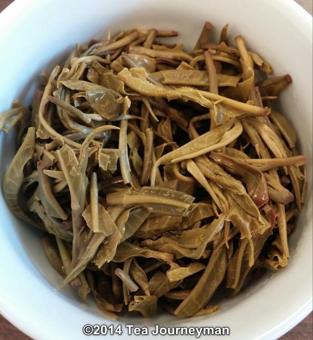 Long Leaf Green Tea Infused Leaves