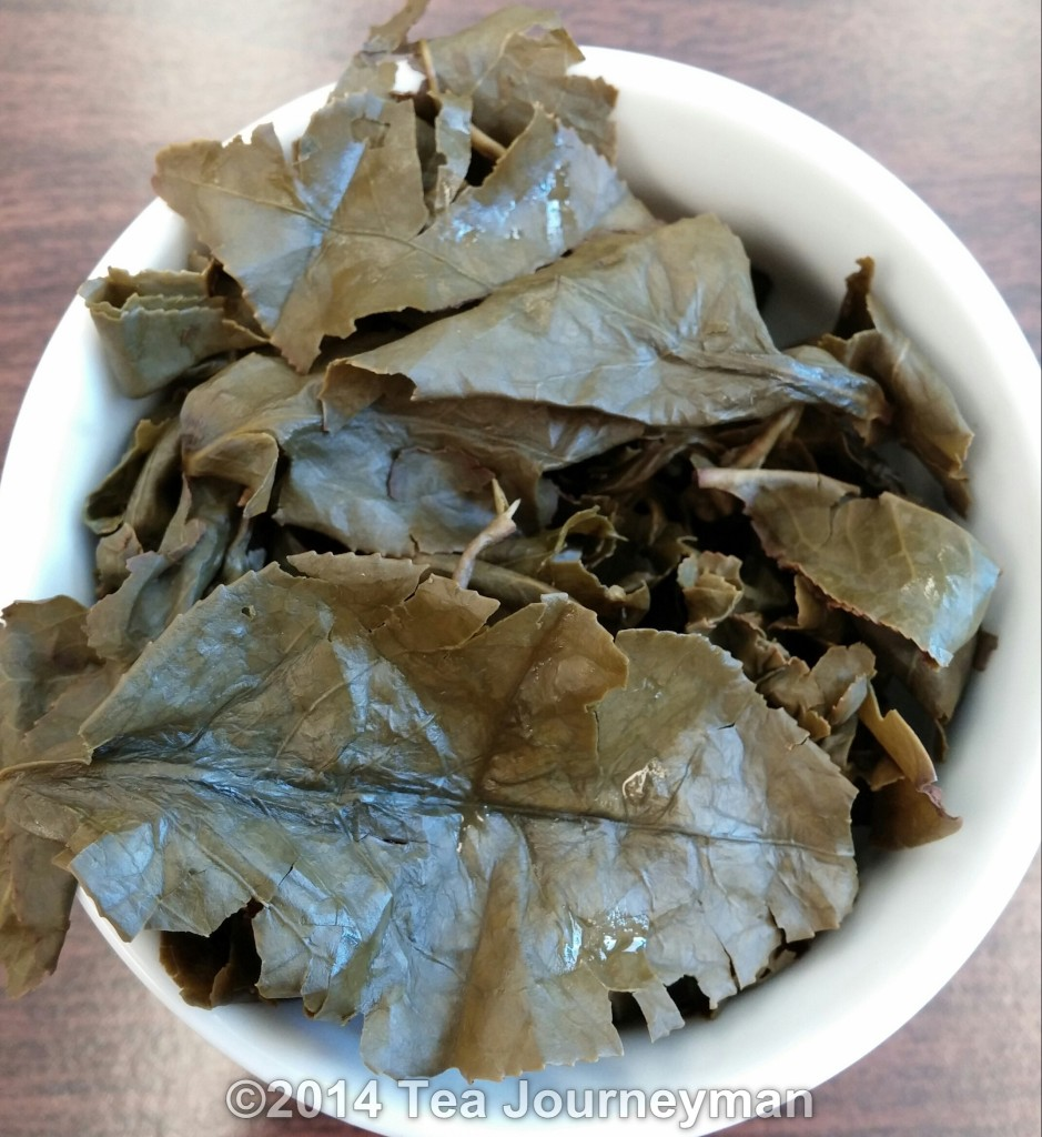 Four Seasons Oolong Tea Infused Leaves