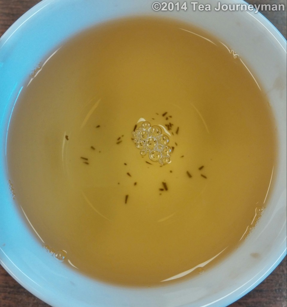 Super Fine Silver Needle White Tea 3rd Infusion