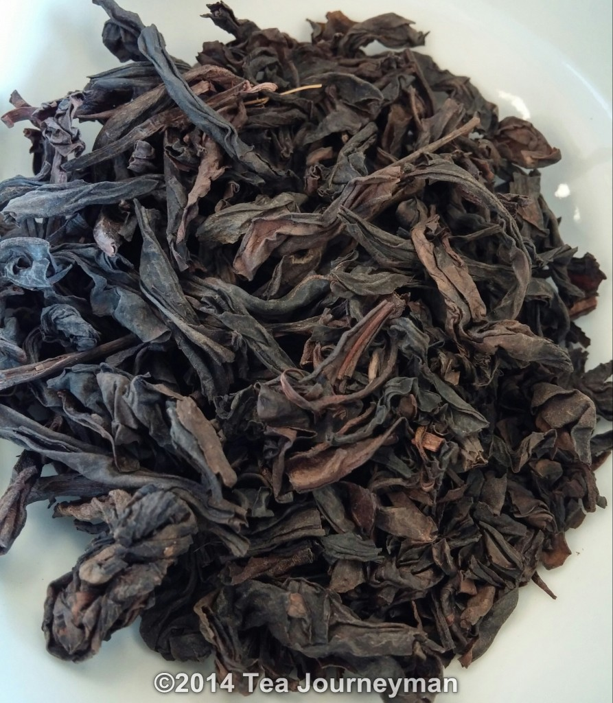 Ban Yan Da Hong Pao Wuyi Rock Oolong Tea Dry Leaves