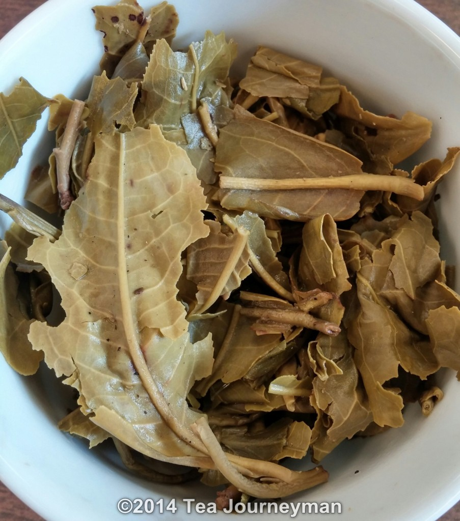 Suoi Giang Special Green Tea Infused Leaves