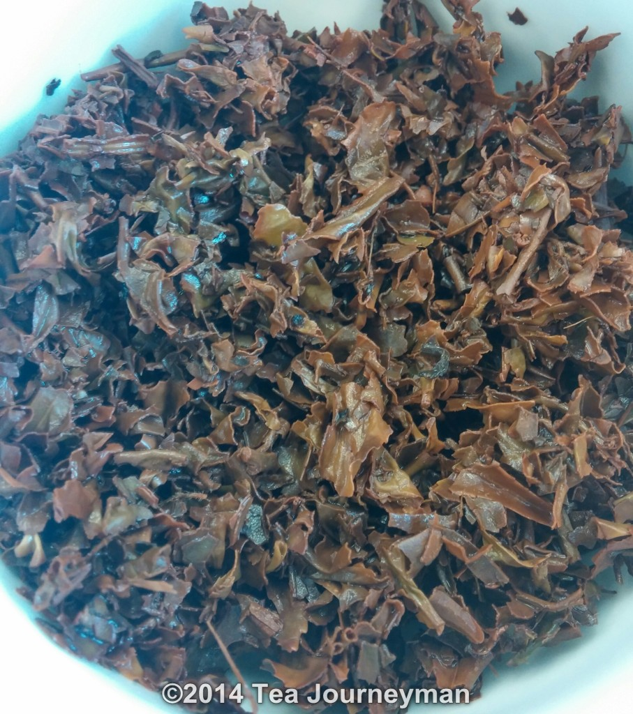 Satemwa TSFBOP1 Black Tea Infused Leaves