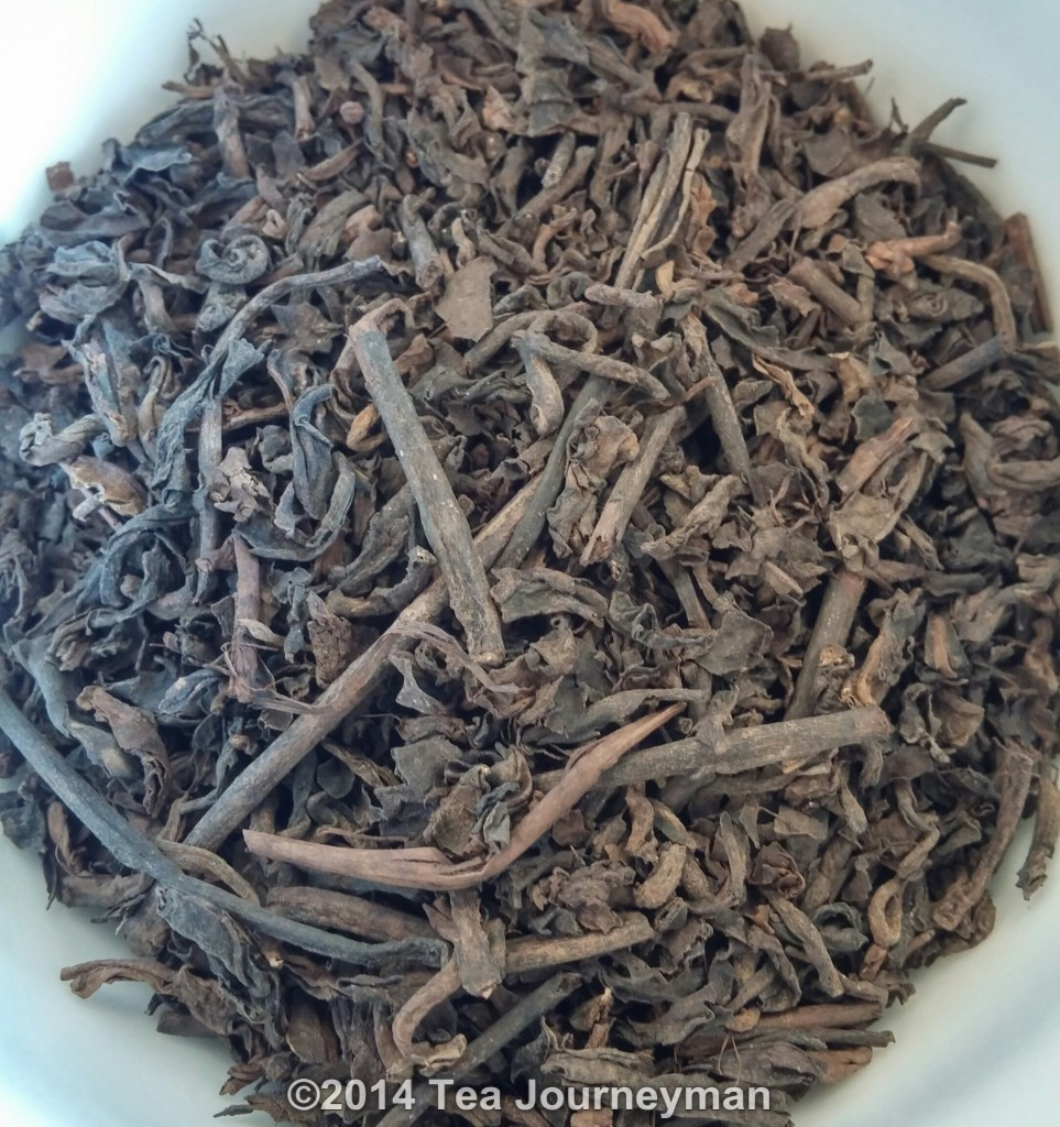 Satemwa Dark Leaf Pu-erh Tea Dry Leaves