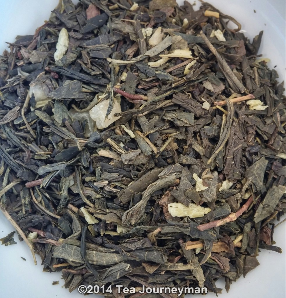 Nina's Paris Magicienne Green Tea Dry Leaves