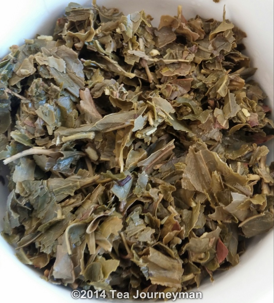 Nina's Paris Magicienne Green Tea Infused Leaves