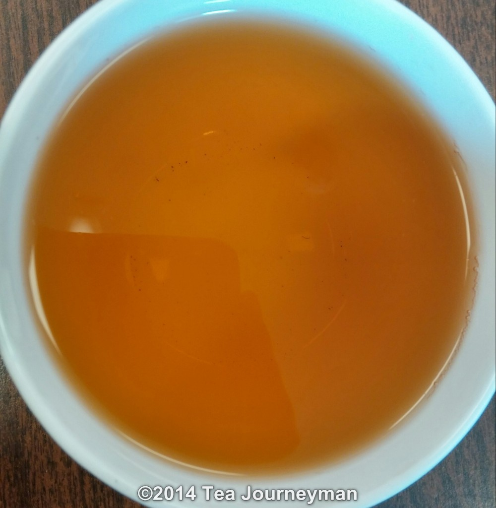 Jungpana Wiry Special 2nd Flush 2014 Organic Darjeeling Tea Infusion