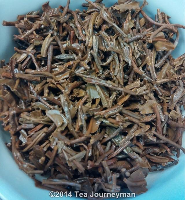 Jungpana Wiry Special 2nd Flush 2014 Organic Darjeeling Tea Infused Leaves