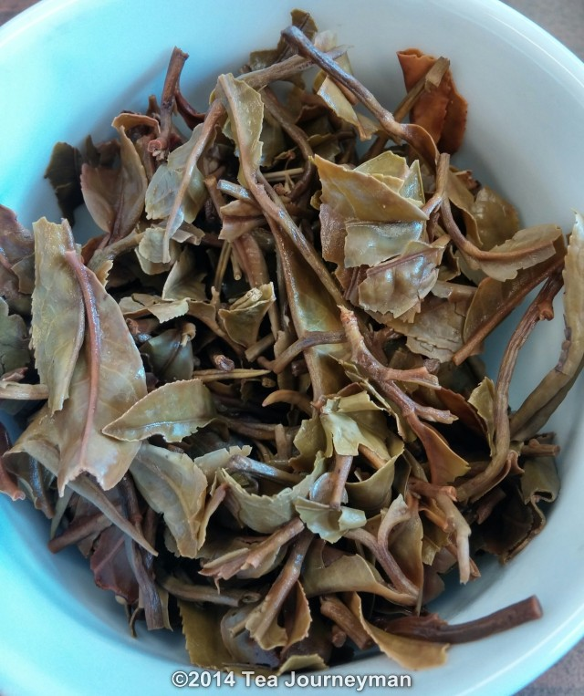 Khima FTGFOP1 (CH) 2nd Flush 2014 Nepal Tea Infused Leaves