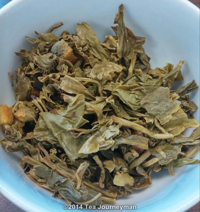 Satemwa Earl Grey Green Tea Dry Infused Leaves