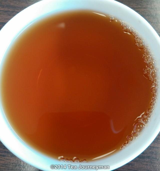 Seajuli GFOP 2nd Flush 2014 Assam Black Tea Infusion