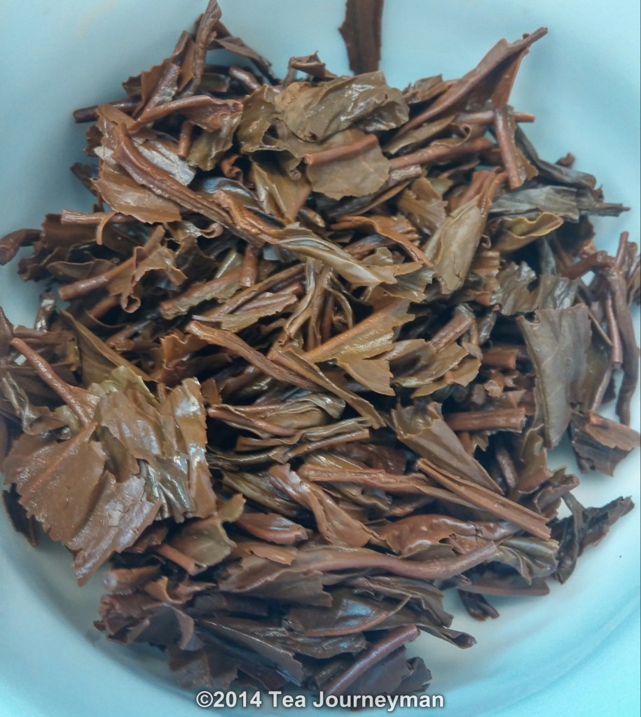Seajuli GFOP 2nd Flush 2014 Assam Black Tea Infused Leaves