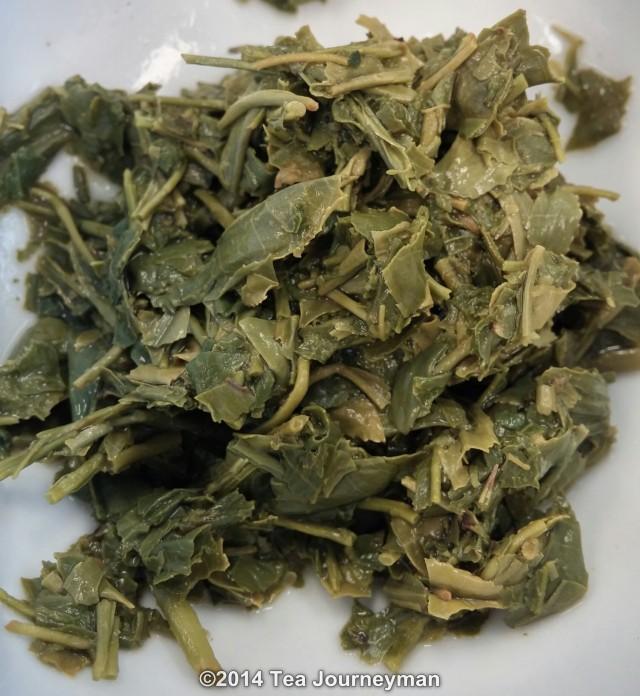Shincha Hatsuzumi 1st Flush 2014 Green Tea Infused Leaves