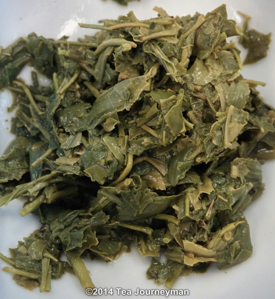 Shincha Hatsuzumi 1st Flush 2014 Green Tea Infused Leaves