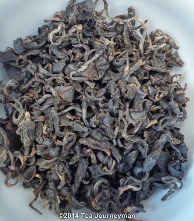 Yun Bi Oolong Tea Dry Leaves
