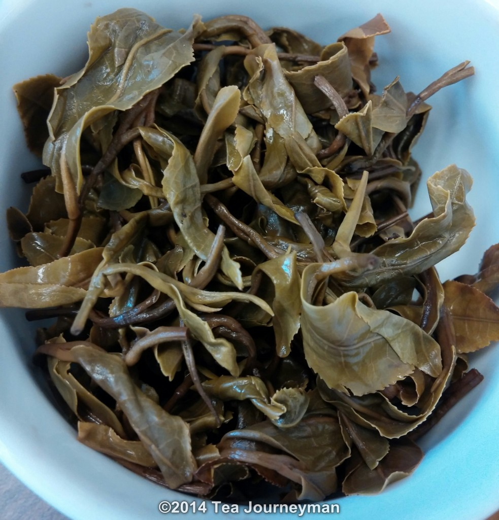 Yun Bi Oolong Tea Infused Leaves
