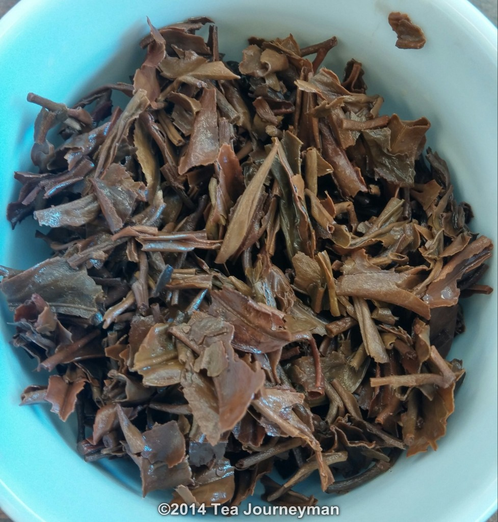 Margaret's Hope FTGFOP1 King Clonal 2nd Flush 2014 Darjeeling Tea Infused Leaves