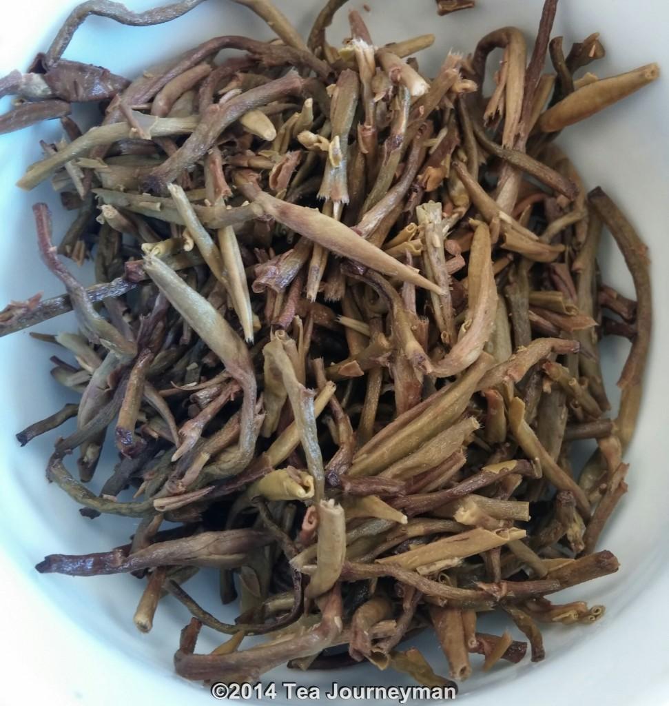 Fikkal Silver Needle White Tea Infused Leaves