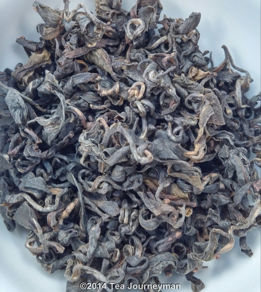 Doi Inthanon Luan Tze Oolong Tea Dry Leaves