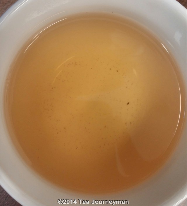 Doi Inthanon Luan Tze Oolong Tea Infusion