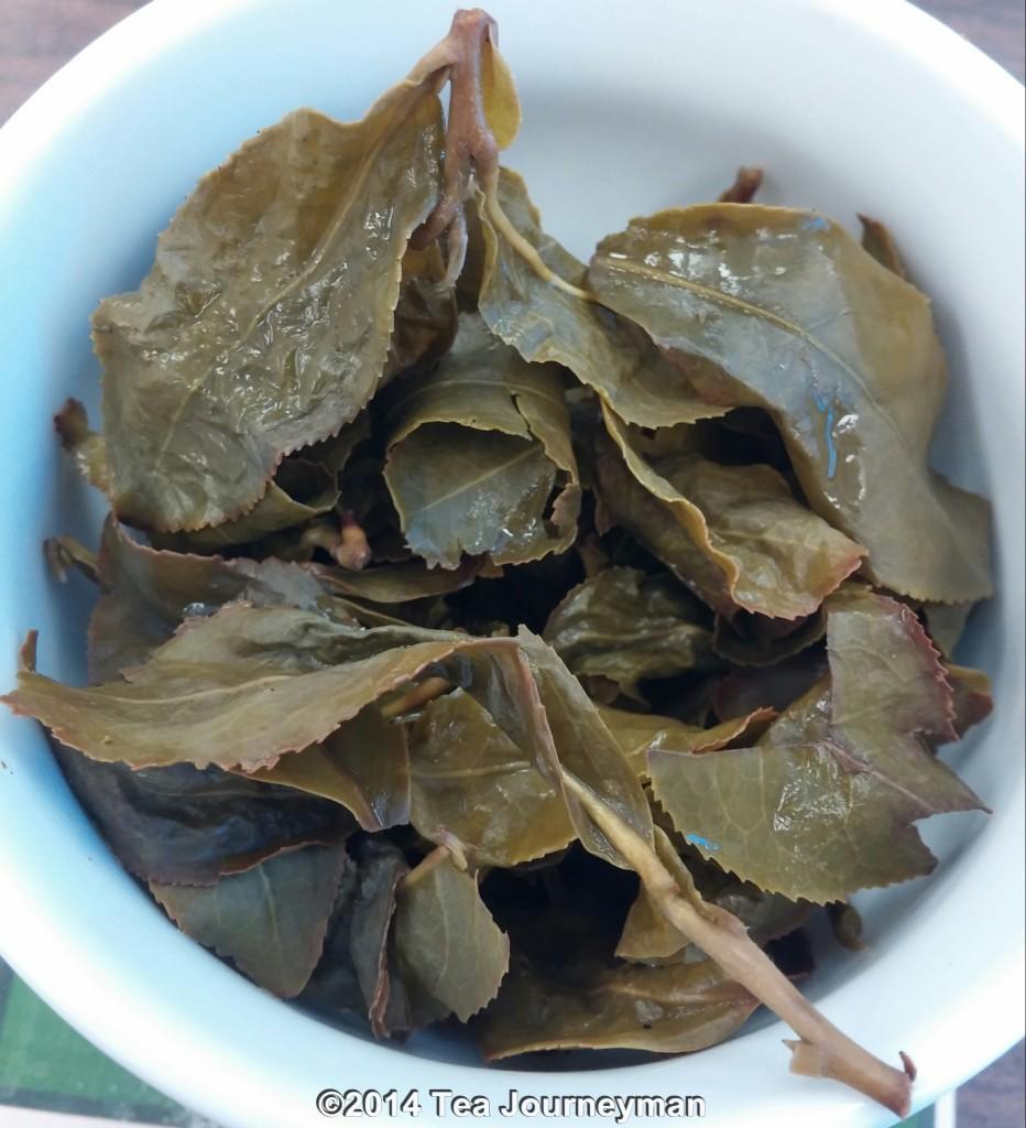 Four Seasons of Spring Oolong Tea Infused Leaves