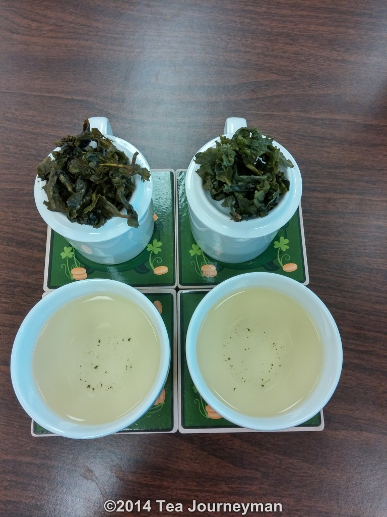 Spring and Autumn 2014 TieGuanYin Oolong Tea Comparison
