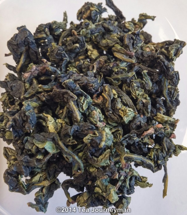 Xin Yuan Autumn 2014 TieGuanYin Oolong Tea Dry Leaves