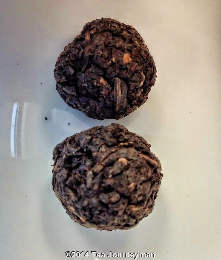 Amba Hand-Rolled Black Tea Gems Dry Leaves (Enhanced Image)