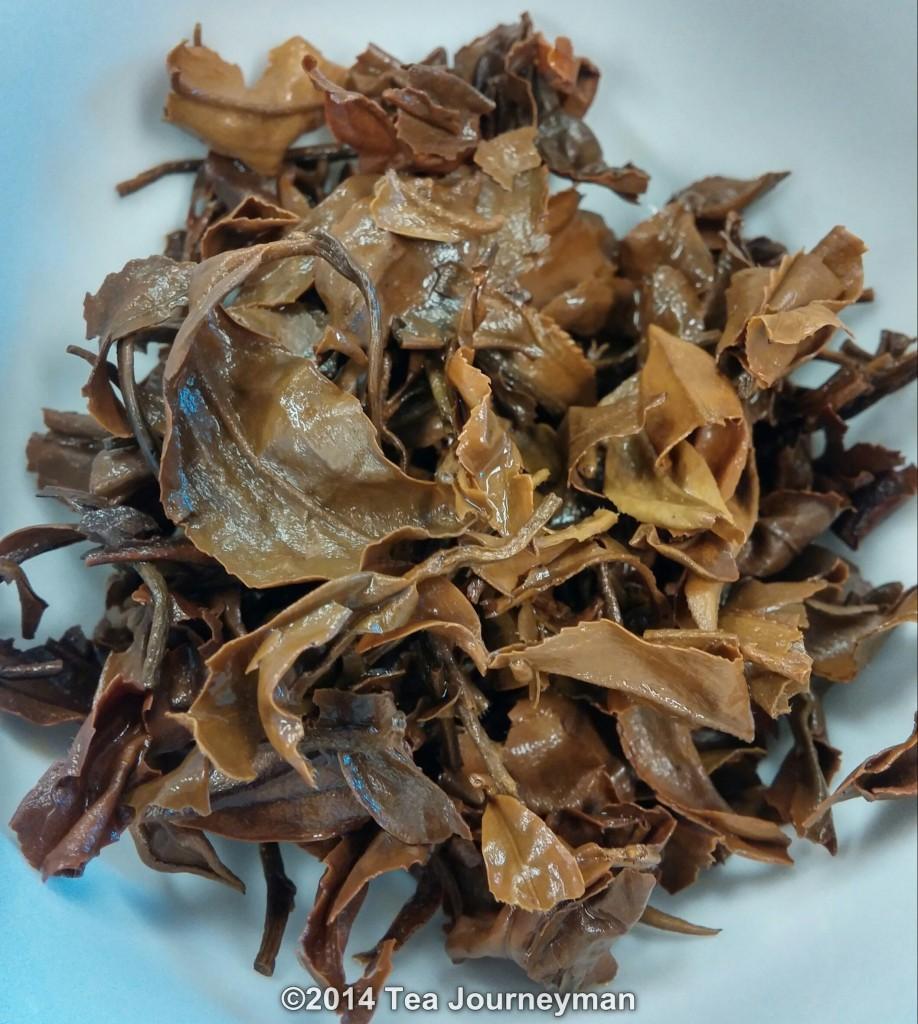 Gopaldhara Wonder Muscatel 2nd Flush 2014 Darjeeling Tea Infused Leaves