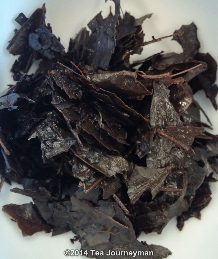 Obubu Kyobancha 2014 Roasted Green Tea Infused Leaves