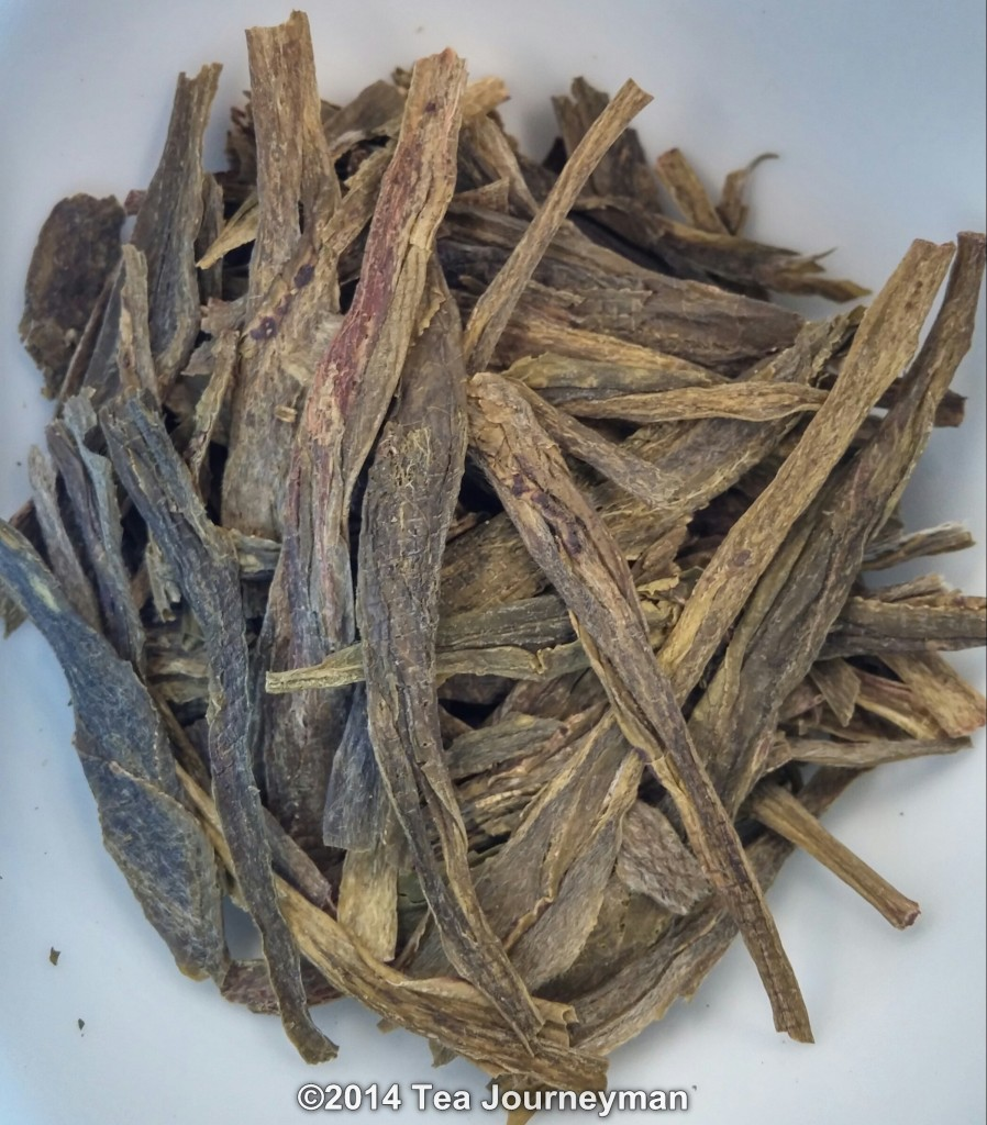 TeaVivre Nonpareil Cha Wang Tai Ping Hou Kui Green Tea Dry Leaves
