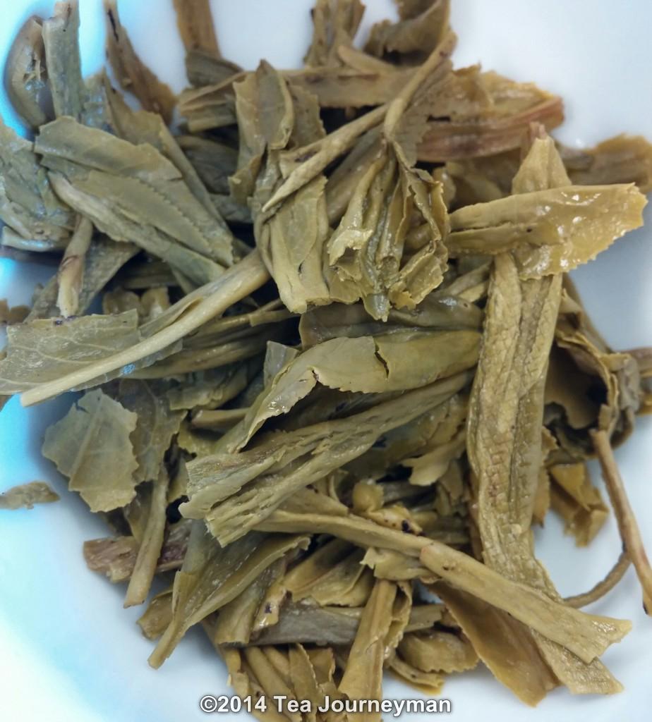 TeaVivre Nonpareil Cha Wang Tai Ping Hou Kui Green Tea Infused Leaves