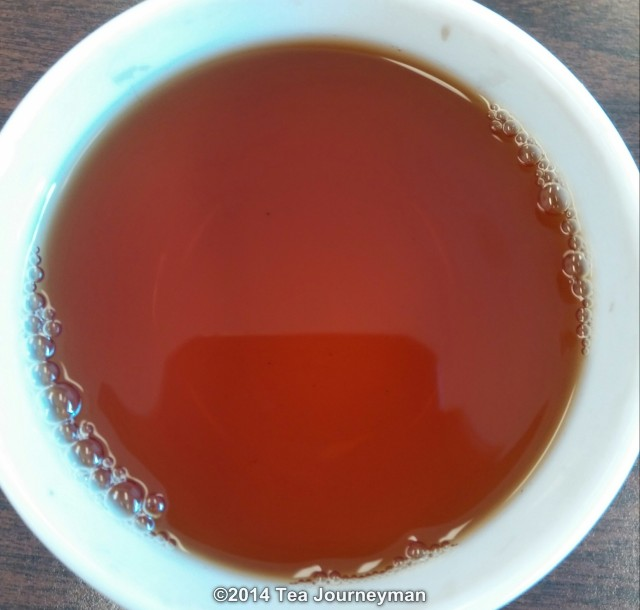 Harmutty Golden Lion 2nd Flush 2014 Assam Black Tea Infusion