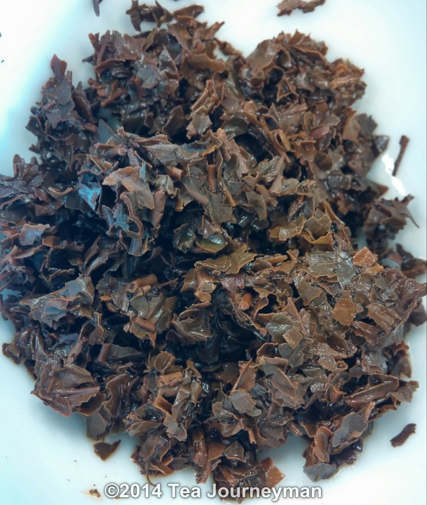 Poabs Organic FBOP Black Tea Infused Leaves