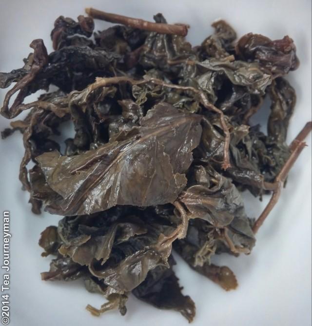 Medium Roast Dong Ding Oolong Tea Infused Leaves