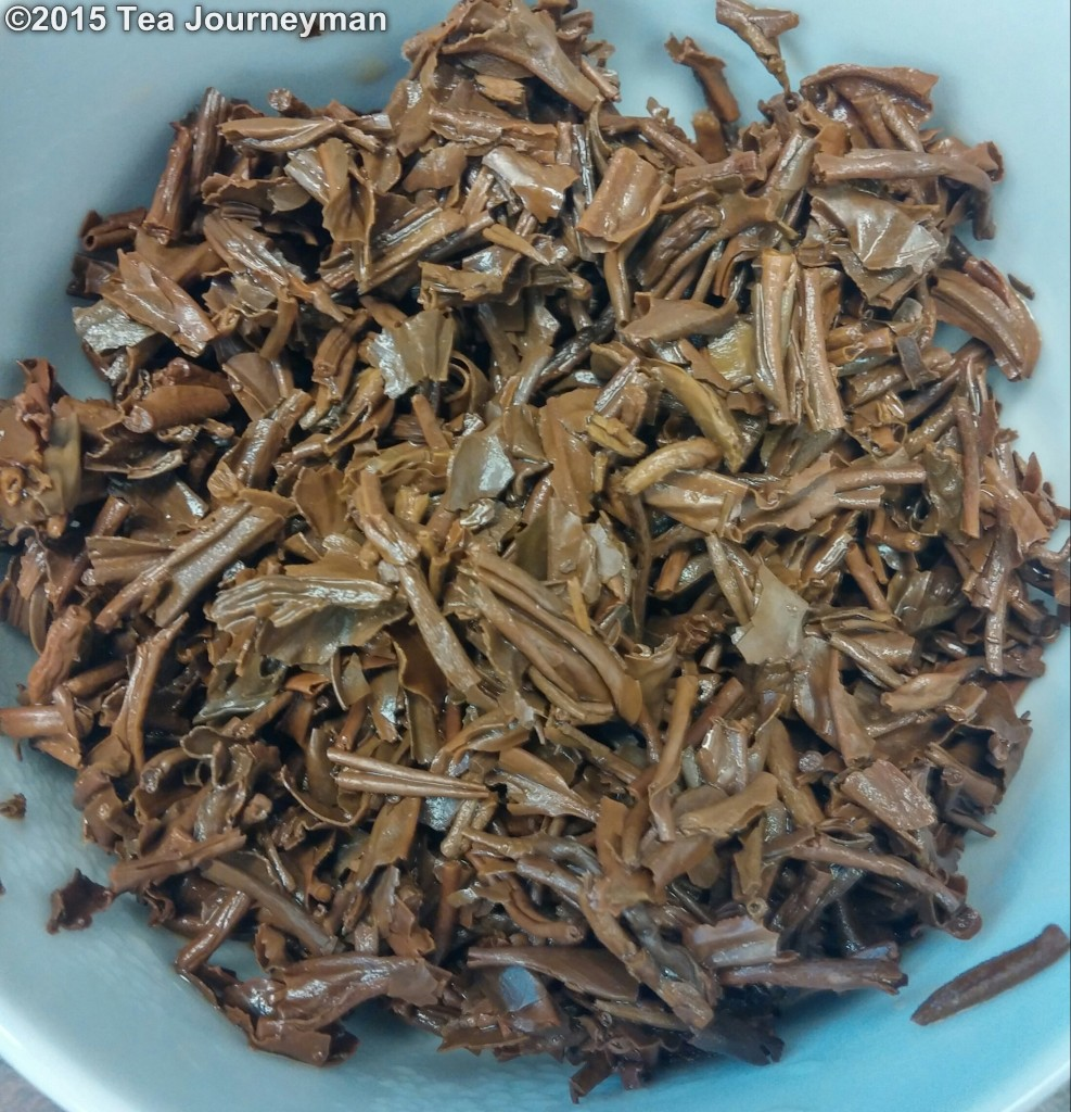 Hattialli TGFOP1 Clonal Tippy 2nd Flush 2014 Assam Black Tea Infused Leaves